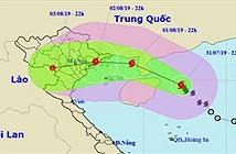 Bão Wipha sẽ gây mưa lớn ở miền Bắc