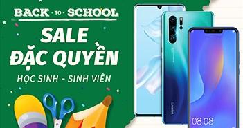 Vui tựu trường, Huawei giảm giá đồng loạt các mẫu smartphone cả triệu đồng