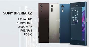 """[IFA 2016] Sony Xperia XZ: 5,2"""", thiết kế viền nhôm mới, camera cải tiến, chống nước, USB-C"""