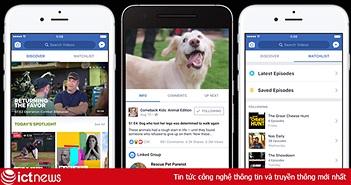 Facebook Watch sẽ được ra mắt trong vài ngày tới