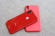 Mô hình và ốp lưng được cho là của iPhone 8 tại Việt Nam