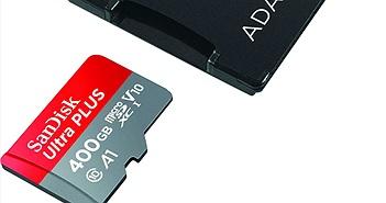 SanDisk tung ra thẻ nhớ microSD lớn nhất thế giới: 400GB, giá 250 USD