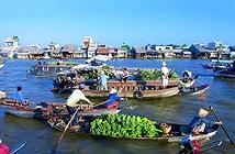"""Ghé thăm chợ nổi """"hot"""" bậc nhất Việt Nam"""