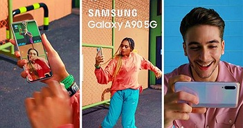 Galaxy A90 5G phô diễn nhiều tính năng qua quảng cáo mới