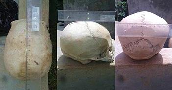 """Choáng: Hài cốt người trong """"mộ hang động"""" có hộp sọ như của loài khác"""
