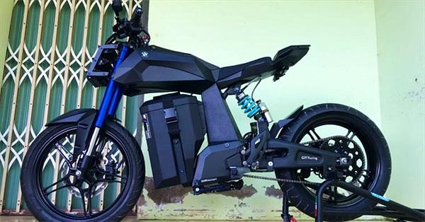 Sinh viên Việt Nam chế xe điện dựa trên bản vẽ của BMW