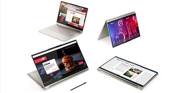 Lenovo tung ra Laptop Yoga bọc da cao cấp, pin 20 giờ