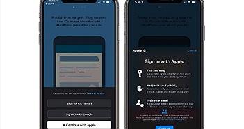 """Mọi điều cần biết về dịch vụ đăng nhập """"Sign in with Apple"""""""