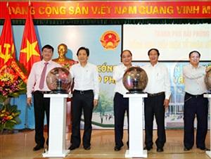 Khai trương Cổng giao tiếp điện tử quận Hồng Bàng