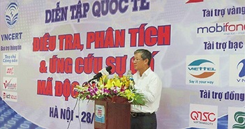 Việt Nam tham gia diễn tập quốc tế chống chiến tranh mạng