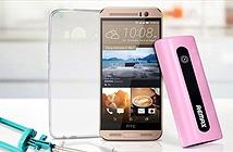 HTC One ME chính hãng giá 6.290.000 đồng, màn hình 2K, camera 20 MP, 3 GB RAM, Helio X10