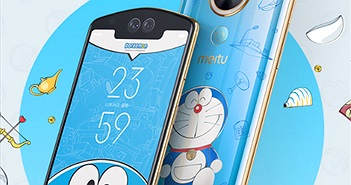 Meitu T9 Doraemon Limited Editon: Trở về tuổi thơ cùng chú mèo máy đáng yêu