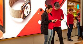 Apple kiếm được 64 tỉ USD trong quý 4