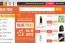 Hơn 60.000 khuyến mãi đã sẵn sàng cho Online Friday 2015
