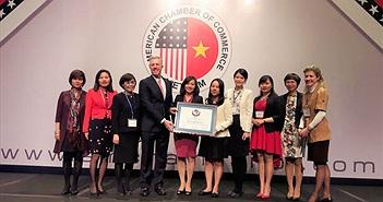 Năm thứ 2 liên tiếp, Microsoft Việt Nam được vinh danh tại Amcham