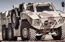 Ngỡ ngàng thiết kế dàn xe thiết giáp bánh lốp thế kỷ 21