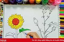 Cộng đồng mạng chia sẻ hình hoa hướng dương dễ vẽ và ý nghĩa nhất