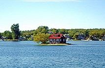 Chuyện lạ hôm nay: Hòn đảo nhỏ nhất thế giới, chỉ 1 nhà, 1 cây