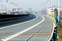 Đường cao tốc… cấp điện cho 800 hộ gia đình