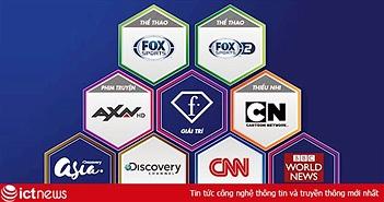K+ thêm 9 kênh quốc tế trên truyền hình Internet