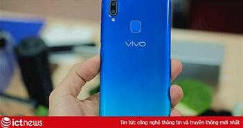 Mở hộp Vivo Y91: Màn hình giọt nước, màu gradient, camera kép, giá 4,49 triệu đồng