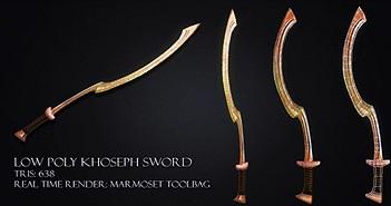 Kiếm Khopesh – Vũ khí của cấm vệ Pharaoh