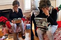 Chồng qua đời 7 tháng, vợ bật khóc ngay khi mở hộp quà của cháu gái