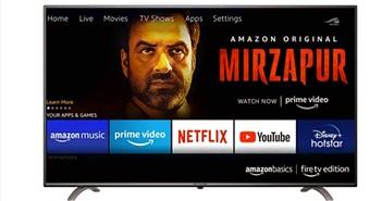 TV đầu tiên của Amazon: LED 4K, HDR 10, Dolby Vision giá từ 410 USD