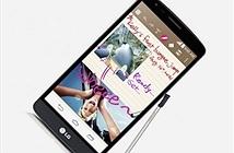 LG âm thầm sản xuất smartphone tầm trung G4 Stylus