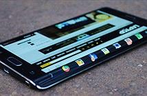 Màn hình cong trên Galaxy Note Edge mang lại lợi ích gì?
