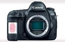Canon đệ trình bằng sáng chế đưa cảm biến vân tay lên máy ảnh và ống kính