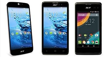 [MWC 2015] Acer ra mắt 3 máy Liquid mới: Z220 (Android 5.0), Z520 và Jade Z, giá từ 89 Euro