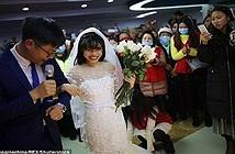 Chuyện lạ hôm nay: Đám cưới không có chú rể... nhưng hạnh phúc diệu kỳ
