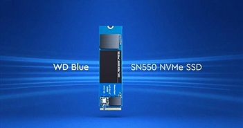 Western Digital ra mắt ổ cứng WD Blue SN550 NVMe SSD nhanh gấp 4 lần ổ cứng SATA SSD