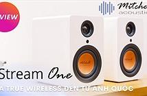 Mitchell Acoustics uStream One, loa true wireless nhỏ gọn, chất âm tròn chuẩn Anh Quốc
