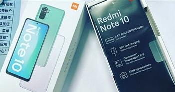 Xiaomi Redmi Note 10 lộ thiết kế cùng chipset Snapdragon 678