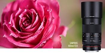 Samyang chính thức giới thiệu ống kính 100mm Macro F/2.8
