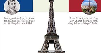 Tháp Eiffel tròn 126 tuổi: Những con số thú vị