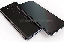 Rò rỉ ảnh render LG G7 với màn hình tai thỏ và camera kép