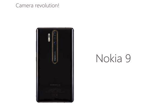 Rò rỉ hình ảnh Nokia 9 với camera khủng 41MP