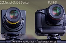 Tròn mắt xem video cực nét quay từ cảm biến 120MP của Canon