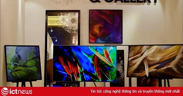 Loạt TV QLED 4K của Samsung giảm giá hơn chục triệu đồng