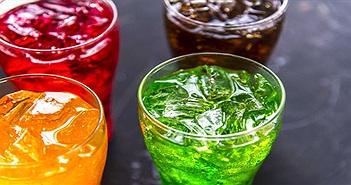 Soda và đồ uống thể thao có thể gây tử vong sớm hơn