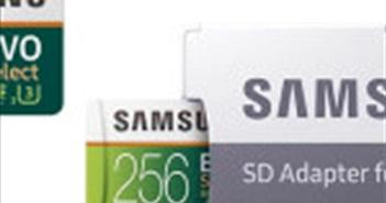 Thẻ nhớ Samsung 256 GB đang giảm giá rẻ không tưởng