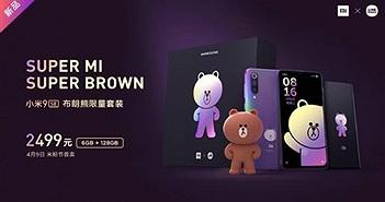 Xiaomi ra mắt bản đặc biệt Mi 9 SE Brown Bear