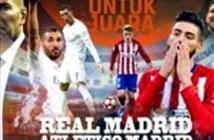 Trực tiếp Real vs Atletico (1h45 ngày 3/5)