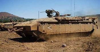 Dùng như phá, siêu tăng Merkava IV cũng không chịu nổi lính Israel