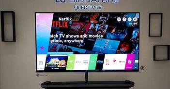 TV LG OLED 2018 tích hợp AI ThinQ dự kiến về Việt Nam giữa tháng 5, giá hấp dẫn