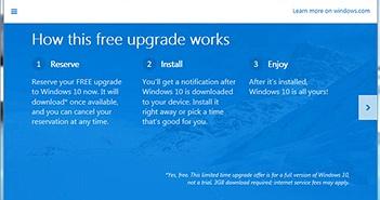 Windows 10 chính thức phát hành ngày 29/7
