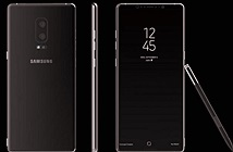 Galaxy Note 8 có thể dùng camera kép, máy quét vân tay tích hợp trong màn hình